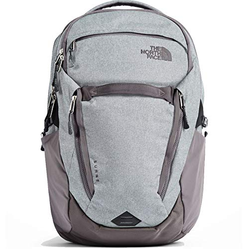 (The North Face Women's Surge Laptop Backpack (Heather Rabbit Grey))