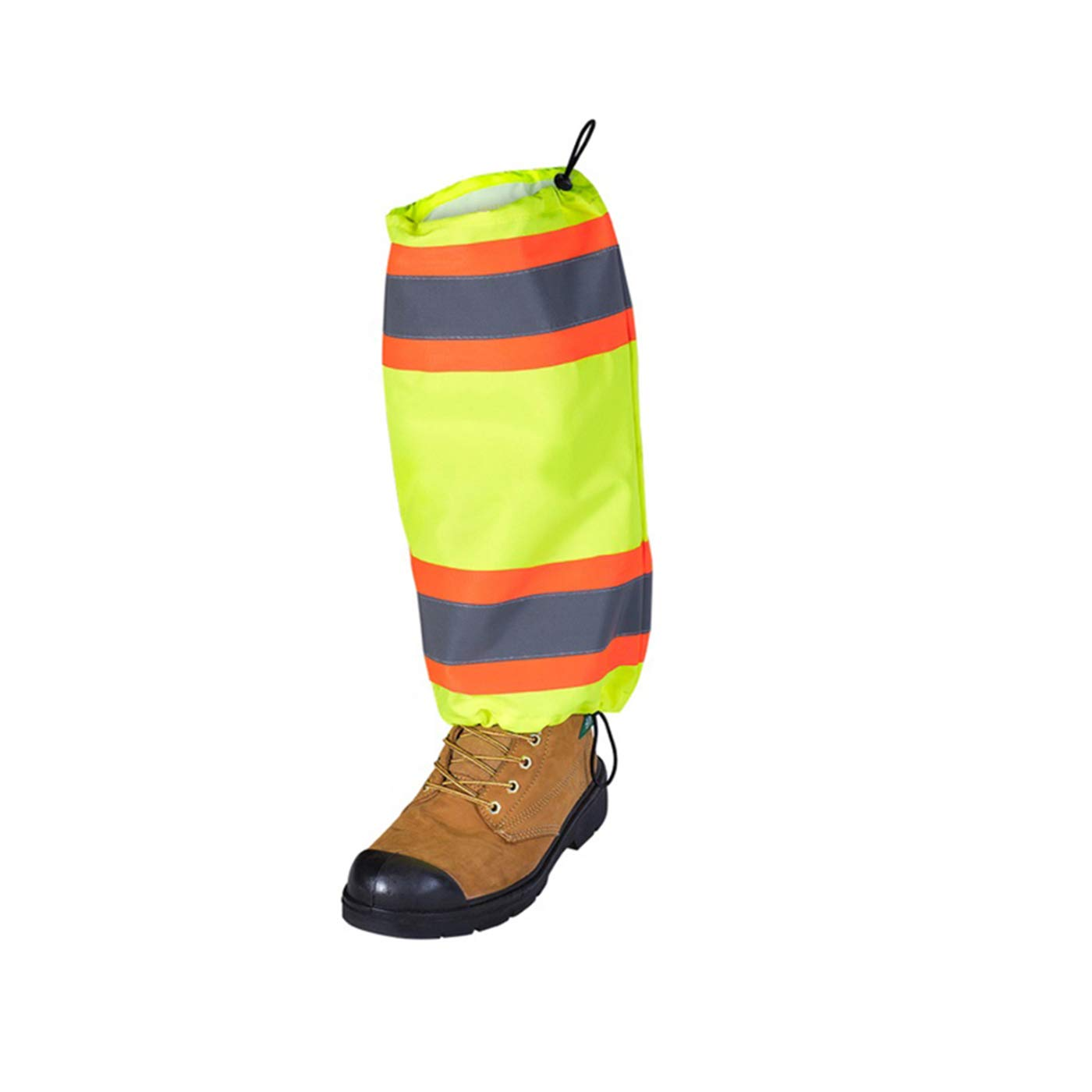 Reflective Tape High Visibility Pack of 2 Yellow//Green Pioneer Lightweight Unisex V1040870U-O//S One Size Fits All Waterproof Polyester Leg Gaiters