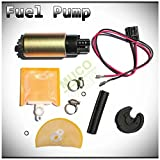 2005 chevy tahoe fuel filter - MUCO New 1pc High Performance Electric Gas Intank EFI Fuel Pump With Strainer/Filter + Rubber Gasket/Hose + Stainless Steel Clamps + Universal Connector Wiring Harness & Necessary Installation Kit