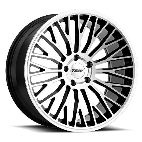 TSW Casino Wheel Rim Gloss Black W/ Mirror Cut Face 19x8.5 5x4.5 (5x114.3) (Wheels Rims Casino)