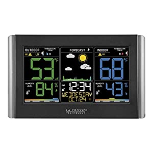 La Crosse Technology C85845-1 Color Wireless Forecast Station Patio, Lawn and Garden