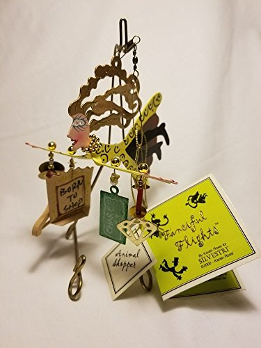- Silvestri Fanciful Flights By Karen Rossi Animal Shopper Ornament