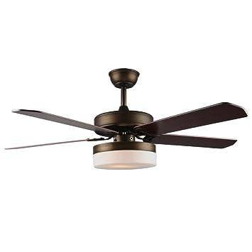 Amazon.com: tropicalfan moderno LED ventilador de techo con ...