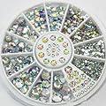 Xbh Glitter Rhinestones Charm Nail Art Decor Accessories