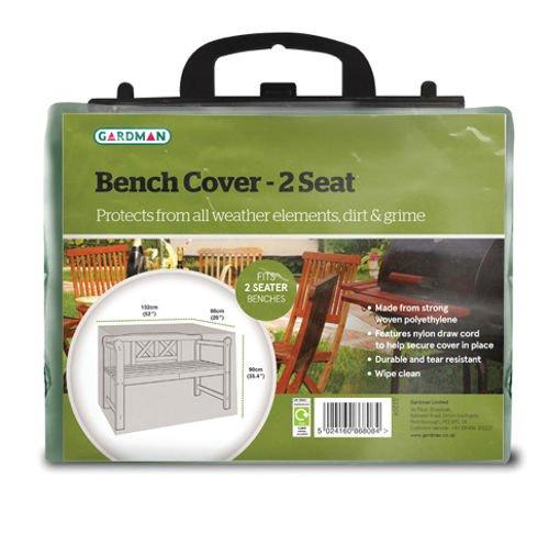 1.2m (4ft) 2 Seater Bench Cover Gardman 32209