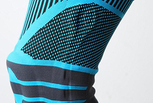 OOFWY Knie-St/ützstrebe mit seitlichen Stabilisatoren Anti-Rutsch-Design M Orange Verbesserter Komfort hilft bei Patella-Problemen LCL//MCL-Ligament-Probleme