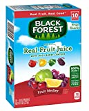 Black Forest Fruit Medley Fruit Snacks Juicy Burst Centers, 0.8 Oz Pouches (Box of 80 pouches)