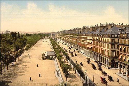 24x36 Poster . Avenue De La Opera (I.E. Rue De Rivoli), 1900, Paris, France