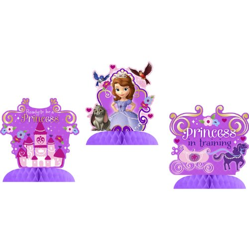 Disney Junior Sofia The First Tabletop Decorations ()