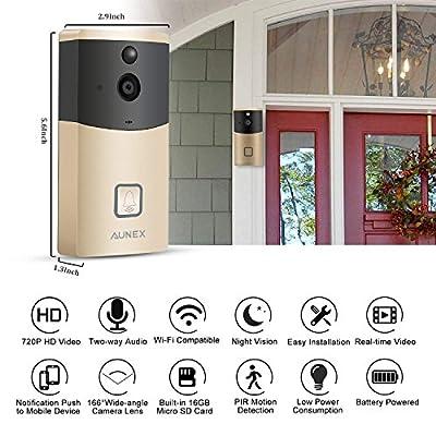 Video Doorbell Camera Wireless Doorbell