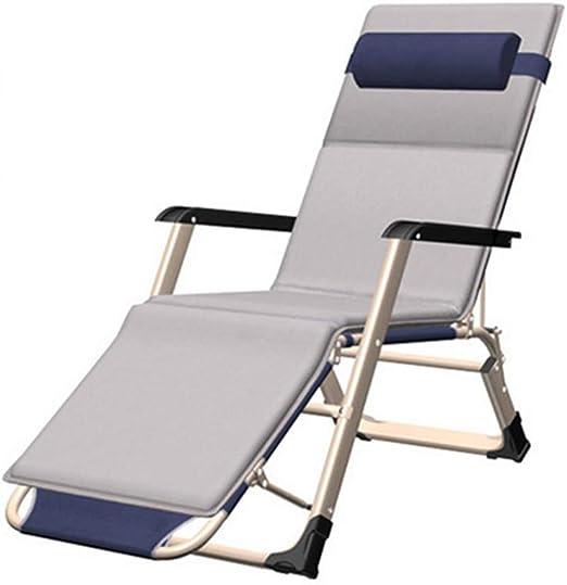 SJASD Ajustable Tumbona Relax de jardín Exterior reclinable Leisure Lounger para jardín y Camping,B: Amazon.es: Hogar