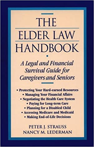 A Trio of Guides to Legal Issues Affecting the Elderly