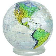 "Jet Creations 36"" Clear Topographical Globe"