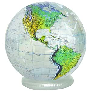 Jet creations 36 clear topographical globe toys games - Globo terraqueo amazon ...