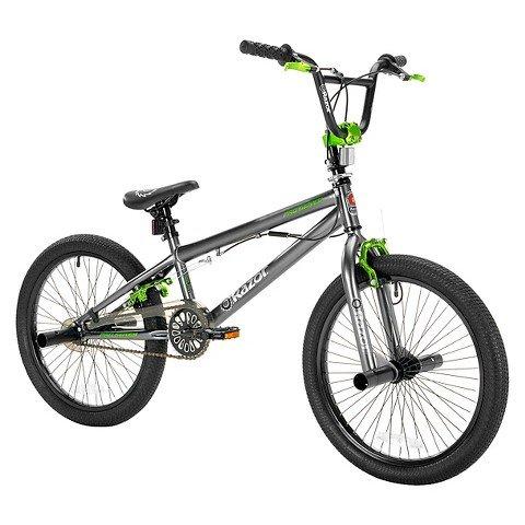 "Razor® ProSeries Freestyle Boys Bike Grey/Green 20"""