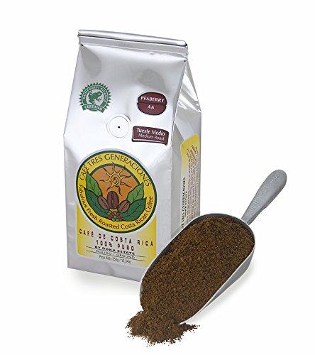 - Peaberry AA Doka Coffee / Ground 12.35 Oz - 350g