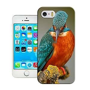 LarryToliver Customizable Bird art painting iphone 5/5s Best Durable Cover Case