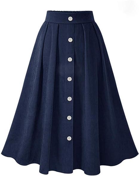 Faldas De Patinadora De Mujer 1950 Vintage De Talle Alto Verano 50 ...