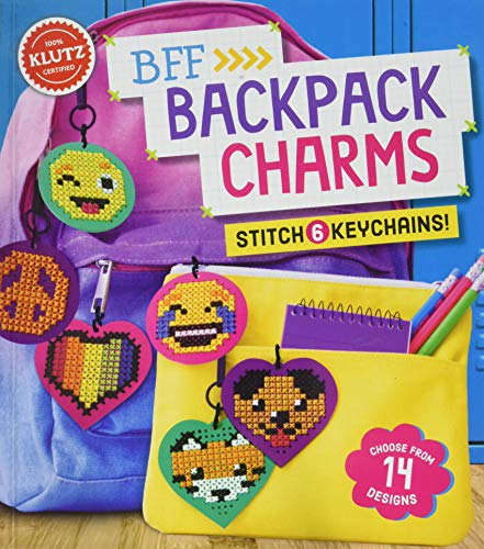 Price comparison product image Klutz 821018 BFF Backpack Charms,  Multicolor
