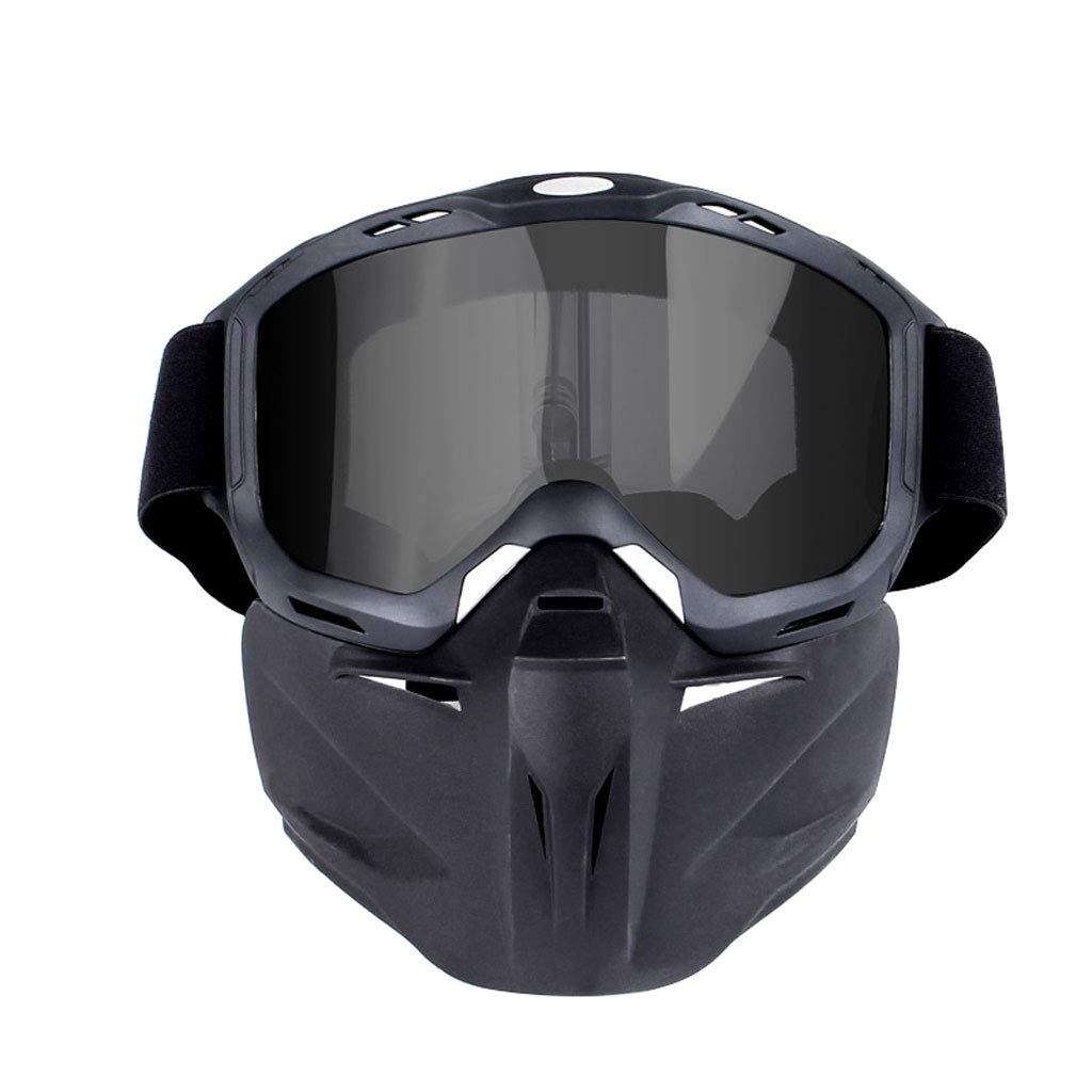 SX Goggles Mask Motorcycle Glasses, Off-Road Windproof Goggles Outdoor Sports Equipment (Color : Gray)