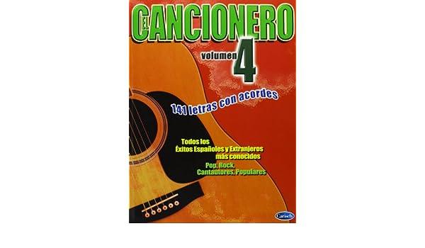 El Cancionero, Volumen 4: Amazon.es: Aa.Vv., Lyrics with Chords ...