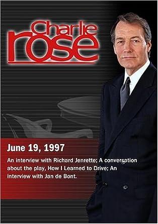 Charlie Rose with Richard Jenrette  Paula Vogel   David Morse  Jan de Bont ( adc07a244c37