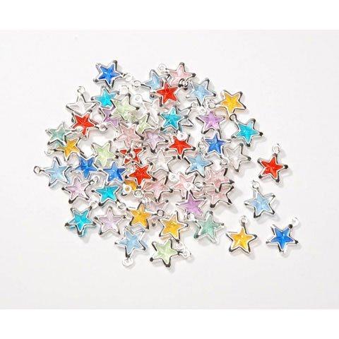 Star Acrylic Charms - Acrylic Star Charms
