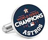 MLB Houston Astros 2017 World Series Champions Navy Cufflinks, Officially Licensed