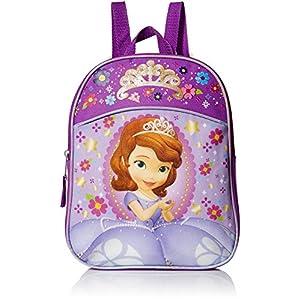 Disney Girls' Sofia The First Miniature Backpack, LIGHT PURPLE/PURPLE, 11″ X 9″ X 2.75″