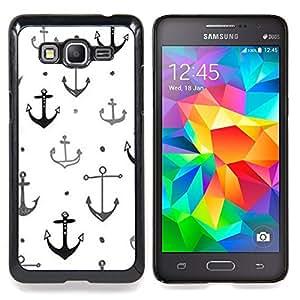 """Planetar ( Pluma Patrón Pájaro púrpura de la paz"""" ) Samsung Galaxy Grand Prime SM-G530F G530FZ G530Y G530H G530FZ/DS Fundas Cover Cubre Hard Case Cover"""
