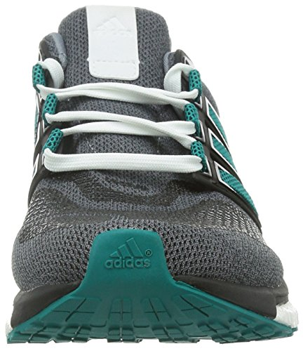 adidas Energy Boost 3 M, Zapatillas de Deporte Para Hombre Gris / Verde / Negro (Gris / Eqtver / Negbas)