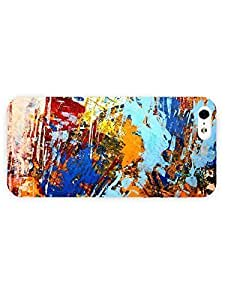 3d Full Wrap Case for iPhone 5/5s Abstract - The Painting Has A Life Of Its Own I Try To Let It Come Through Pollock