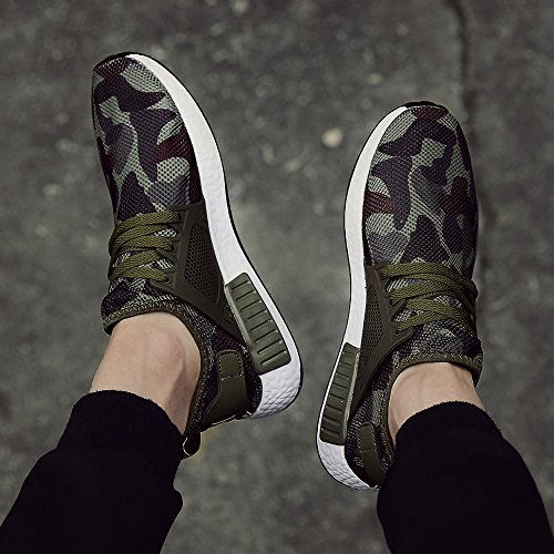 Comfort Star Camouflage Soft Shoes Super Jacky's Driving Walking Canvas Men Style Casual fqU0wH