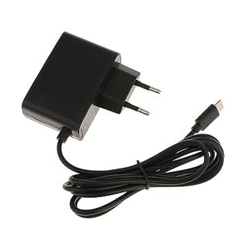 MagiDeal USB Tipo C Adaptador de Corriente Alterna Cargador de Viaje Accesorios para Nintendo Switch