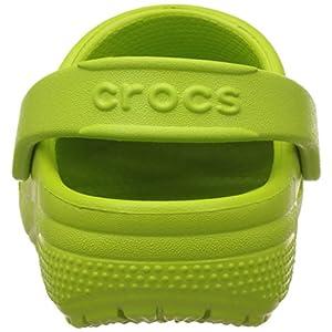 Crocs - Kids Coast Clogs, Size: 9 M US Toddler, Color: Volt Green