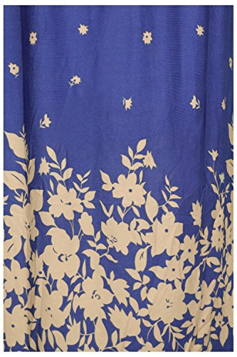 G2 Summer Blue Chic a9 Patterned Dress and Spring Women's and Printed Bohemian rrqUT