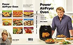 124 Easy-to-Follow Recipes with Full-Page Color Photos for your Power Air Fry OvenFrom Appetizers, Pizza, Bites & Calzones, Entrées, Potatoes & Veggies, Burgers & Sandwiches, Rotisserie, Dehydration, DessertsIncludes Eric's Favori...