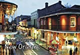 French Quarter, New Orleans, Louisiana, Mardi Gras, Souvenir Magnet 2 x 3 Fridge Photo Magnet