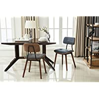 Porthos Home Warren Dining Chair (Set of 2), Blue