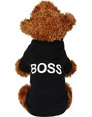 Amphia - Fleece-Kapuzenpullover,Hund Haustier Kleider Kapuzenpullover Warm Sweatshirts Hündchen Mantel Bekleidung