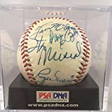 Roger Maris Signed Ball - Stunning 1967 World Series Musial - Autographed Baseballs