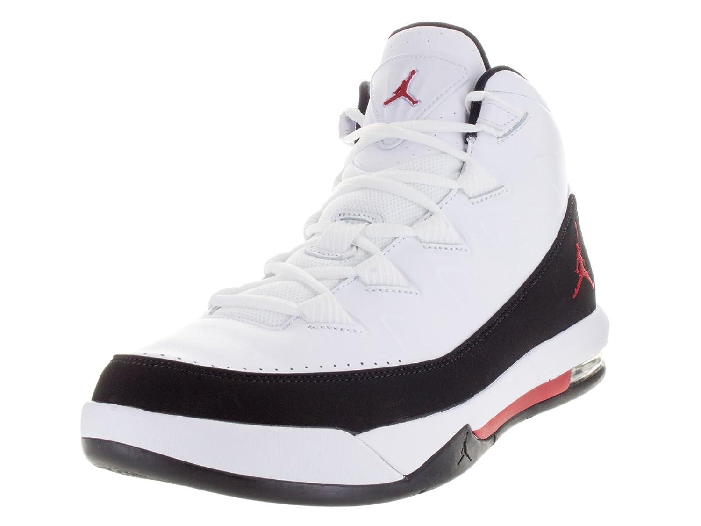 Amazon | Nike Jordan Mens Jordan Air Deluxe White/Gym Red/Black  Basketball Shoe 12 Men US | Basketball