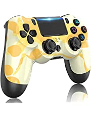 $36 » PS4 Controller Wireless,GOLDJU Gamepad Controller for PS4,with Dual Vibration/Stereo Headset Jack/Touch Pad/Six-axis Motion Control,Compatible with PS4/Slim/Pro Console