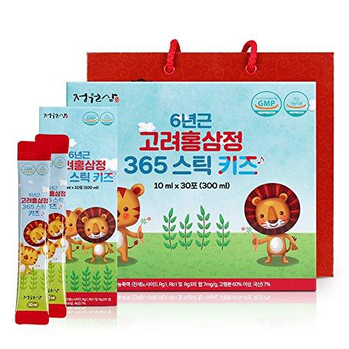 6 Years Red Ginseng 365 Stick Kids