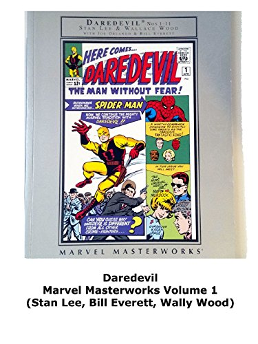 Review: Daredevil Marvel Masterworks Volume 1 (Stan Lee, Bill Everett, Wally Wood)