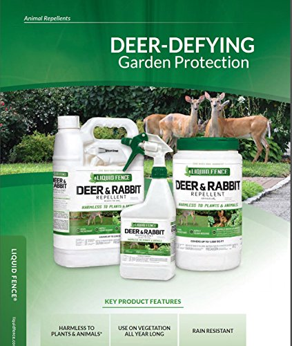 Liquid Fence HG-70111 Deer & Rabbit Concentrate Repellent, 1 gallon by Liquid Fence (Image #3)