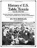 History of U. S. Table Tennis Volume 3, Tim Boggan, 1495999459