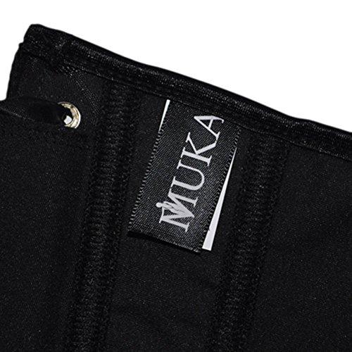 MUKA Women Vintage Underbust Waist Training Boned Corset Clubwear Costume