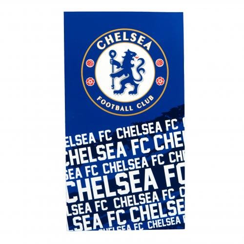 Official Chelsea FC Beach Towel IP by Footie Gifts