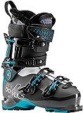 K2 B.F.C. 90 W Womens Ski Boots 2019-23.5/Gray-Blue